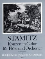 Carl Stamitz - Konzert in G-Dur for Flute and Orchester Opus 29 - Sheet Music - di-arezzo.co.uk
