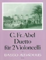 Carl Friedrich Abel - Duetto - Sheet Music - di-arezzo.com