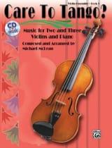 Care To Tango ? Book 1 Michael Mclean Partition Trios - laflutedepan