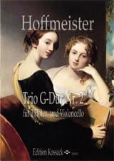 Franz Anton Hoffmeister - Trio n° 2 en sol majeur - Partition - di-arezzo.fr