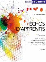 Echos d'apprentis - Cycle 1 Alain Lenglet Partition laflutedepan