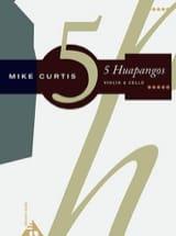 5 Huapangos - Mike Curtis - Partition - Duos - laflutedepan.com