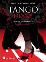 Joachim Johow - Tango Diary - Piano Accompaniment - Partition - di-arezzo.fr