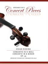 Oskar Rieding - Concerto in B flat minor, op. 35 - Sheet Music - di-arezzo.co.uk
