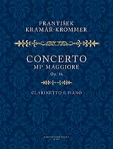 Konzert Es-Dur Op 36 Franz Krommer Partition laflutedepan.com