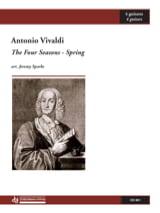Antonio Vivaldi - The four seasons - Spring - Partition - di-arezzo.fr