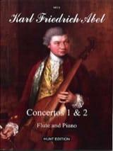 Carl Friedrich Abel - Concertos 1 et 2, opus 6 - Partition - di-arezzo.fr