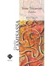 Claudio Camisassa - Suite Tricastine - Zamba - Partition - di-arezzo.fr