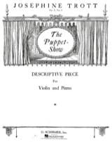 the Puppet Show op. 5 n° 1 Josephine Trott Partition laflutedepan.com
