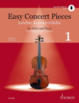 Easy Concert Pieces - - Partition - Violon - laflutedepan.com