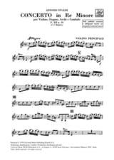Concerto en ré min. - F. 12 n° 19 VIVALDI Partition laflutedepan.com