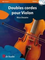 Doubles cordes pour violon Nico Dezaire Partition laflutedepan.com