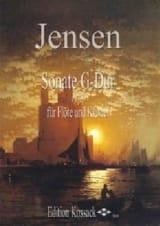 Niels Peter Jensen - Sonate en sol majeur Op. 18 - Partition - di-arezzo.fr