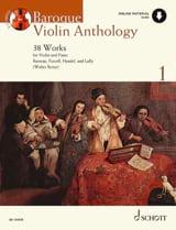 Baroque Violon Anthology Volume 1 - Partition laflutedepan.com