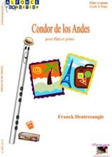 Condor de los Andes Franck Dentresangle Partition laflutedepan.com