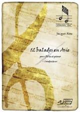 Jacques Riou - 12 Balades en Asie - Partition - di-arezzo.fr