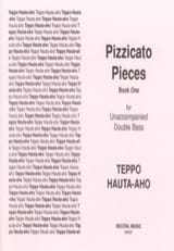Pizzicato pieces - Book One Teppo Hauta-Aho Partition laflutedepan.com