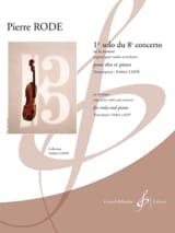 1er solo du 8ème concerto en la mineur Pierre Rode laflutedepan.com