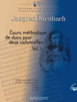 Jacques Offenbach - Cours méthodique de duos pour deux violoncelles - Partition - di-arezzo.fr