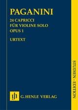 Niccolò Paganini - 24 Capricci op. 1 - Sheet Music - di-arezzo.com