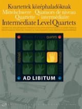 Intermediate Level Quartets Partition Quatuors - laflutedepan