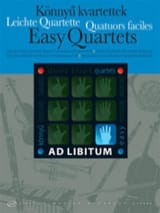 Easy Quartets Partition Quatuors - laflutedepan.com