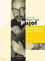 Homenaje a Anibal Troilo Maximo Diego Pujol Partition laflutedepan.com