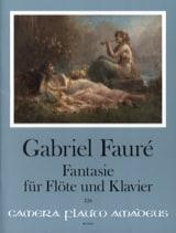 Fantaisie op. 79 - Gabriel Fauré - Partition - laflutedepan.com