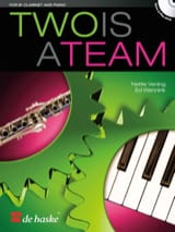 Two is a Team - Clarinette en si bémol et piano laflutedepan.com