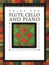 - Trios pour Flûte, Violoncelle et Piano - Partition - di-arezzo.fr