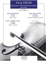 Gammes et Exercices Journ. Volume 2 Devy Erlih laflutedepan.com