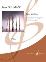 Ivan Boumans - Für eine Blume - Noten - di-arezzo.de