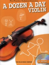 A Dozen A Day - Violon Partition Violon - laflutedepan.com