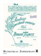 Rudolph Tillmetz - Fantaisie pastorale roumaine, op.34 - Partition - di-arezzo.fr