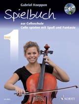 Celloschule Band 1 Spielbuch Gabriel Koeppen laflutedepan.com