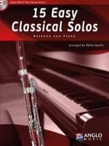 15 Easy classical solos compositeurs Divers laflutedepan.com