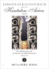 Kantaten-Arien Volume 2 BACH Partition Clarinette - laflutedepan.com