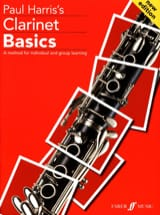 Clarinet Basics Paul Harris Partition Clarinette - laflutedepan.com