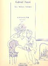 Andante op. 75 Gabriel Fauré Partition Violon - laflutedepan.com