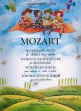 MOZART - Sixteen easy Pieces for children's String orchestra 1ère position - score & pa - Partition - di-arezzo.fr