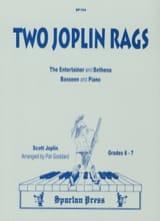 Two Joplin Rags Scott Joplin Partition Basson - laflutedepan.com