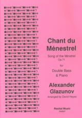 Chant du ménestrel - Alexandre Glazounov - laflutedepan.com