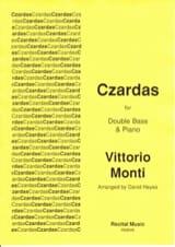 Czardas - Contrebasse et piano Vittorio Monti laflutedepan.com