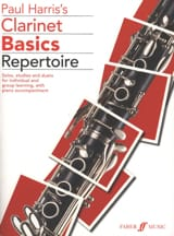 Clarinet Basics Repertoire Paul Harris Partition laflutedepan.com