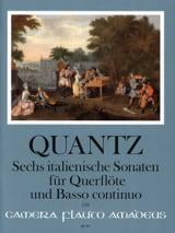 Six sonates italiennes pour flûte et basse continue laflutedepan.com