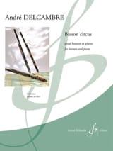 André Delcambre - Bassoon Circus - Sheet Music - di-arezzo.com