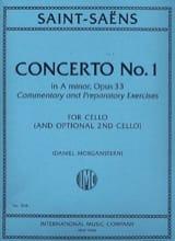 Camille Saint-Saëns - Concerto No. 1 en la mineur Op. 33 - Partition - di-arezzo.fr