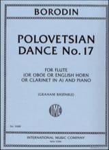 Danse polovtsienne n° 17 Alexandre Borodine Partition laflutedepan.com