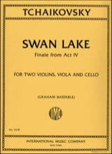 Piotr Illitch Tchaikovski - Swan Lake - Partition - di-arezzo.fr