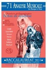 Analyse musicale - Baccalauréat 2014 Revue Livre laflutedepan